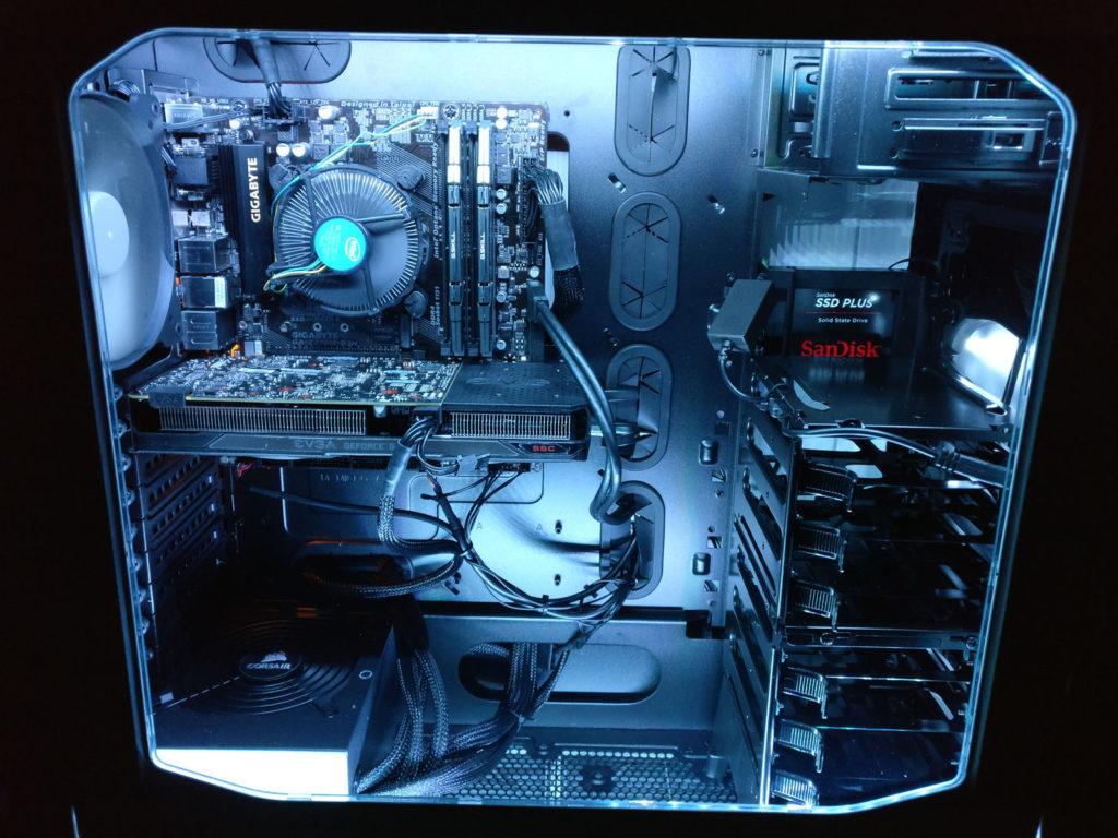 PC Revive's built custom desktop