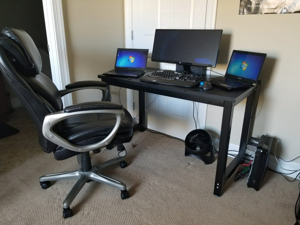 PC Revive's home office setup