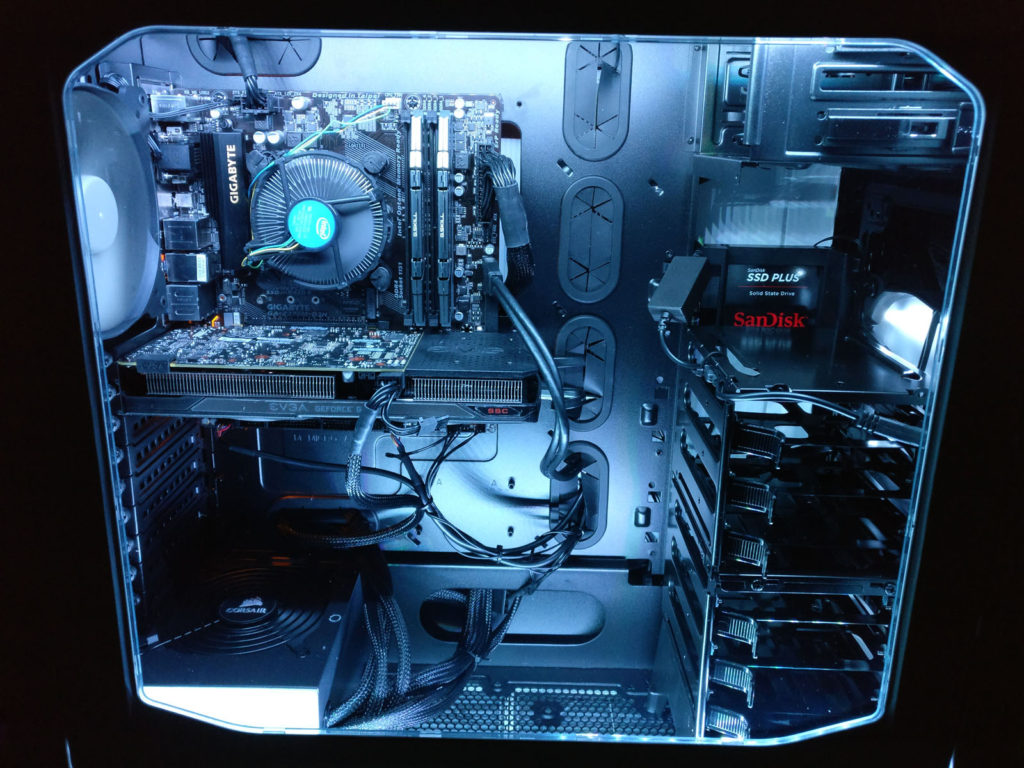 PC Revive's built custom desktop