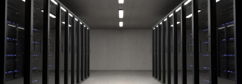 Data doors in server room